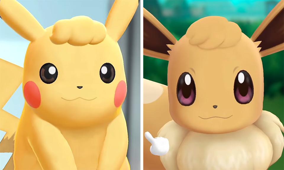 Hair Style Eevee: 'Pokémon: Let's Go' Trailer: Watch It Here