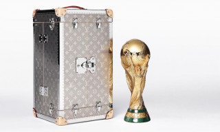 Louis Vuitton Unveils Laser-Engraved Titanium Case for FIFA World Cup Trophy