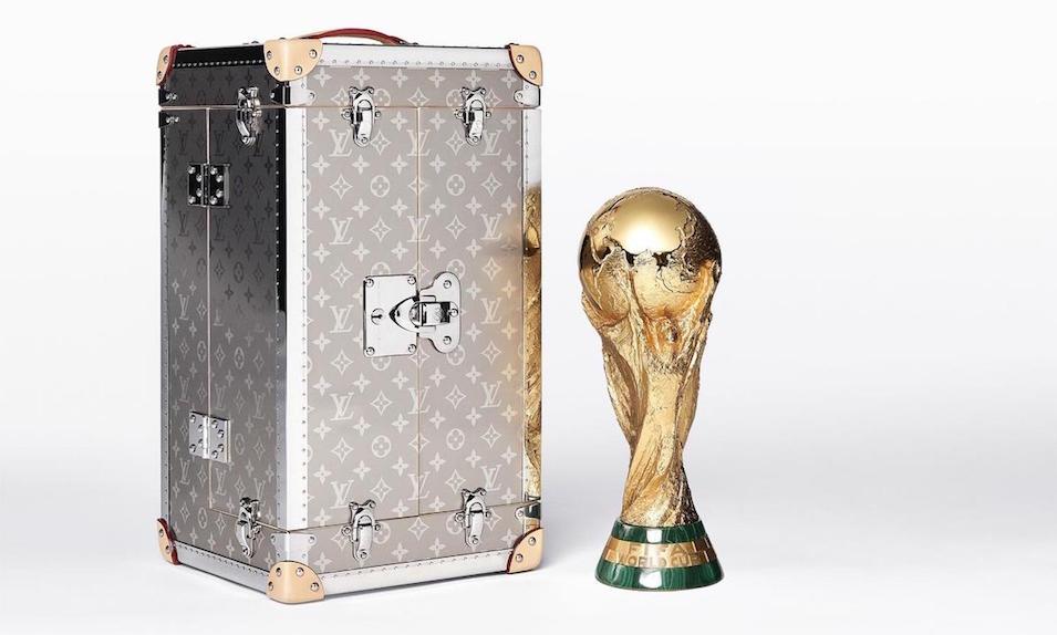 Louis Vuitton Unveils Laser-Engraved Titanium Case for FIFA World Cup Trophy