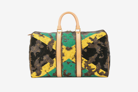 3b8ebb488447 Rep Your Country Hard With These Custom Embroidered Louis Vuitton Keepalls
