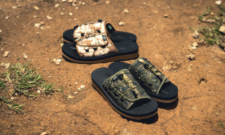 "Here's How to Cop CLOT's Suicoke ""Alienegra Desert Camo"" Sandals"