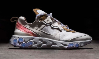 Here's How to Cop The Shoe Surgeon's Luxe Nike React Element 87 Leather Custom