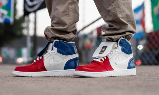 The Shoe Surgeon Commemorates France's World Cup Win With Custom Air Jordan I