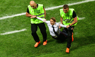 Pussy Riot Members Get 15 Days in Jail for World Cup Final Pitch Invasion