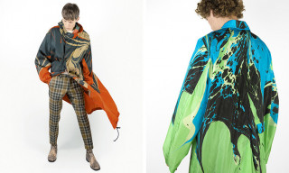 Dries Van Noten Debuts Limited Edition Marble Print Raincoats