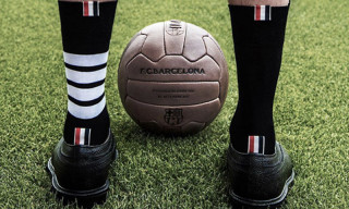 Thom Browne Announces Partnership With FC Barcelona