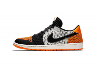 "sports shoes 84535 916d9 The Air Jordan 1 Low Flyknit Receives the ""Shattered Backboard"" Treatment"