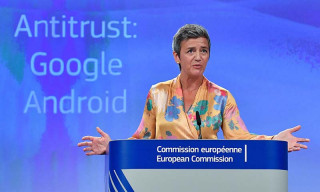 Google Fined a Record $5 Billion for Antitrust Violations