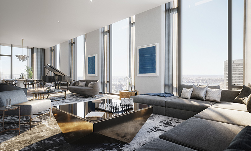 Fifth avenue manhattan penthouse on sale for 24 million for Manhattan penthouses for sale