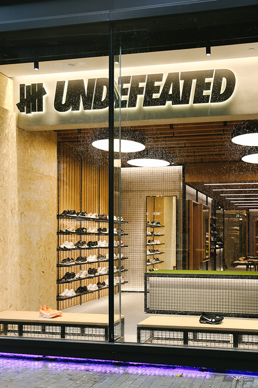 34b7804868 A Look Inside UNDEFEATED's New Hong Kong Flagship – Celebrity Best News