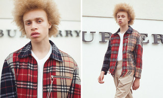 clothsurgeon Made a Jacket Out of Vintage Burberry Scarves