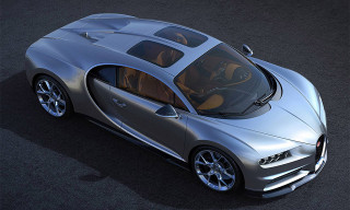 Bugatti Adds a Glass Roof to the Chiron
