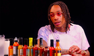 Wiz Khalifa Teaches a Weed Class on 'Hot Ones'