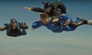 Tom Cruise & James Corden Went Skydiving Together With Hilarious Results