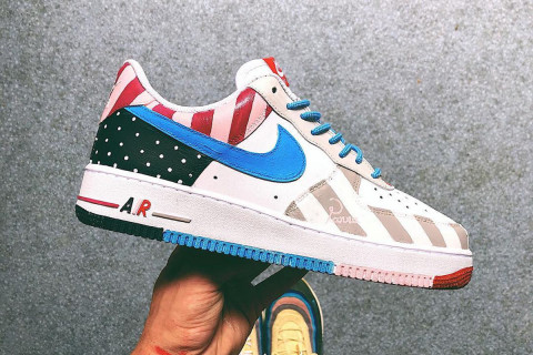 20a21d8350fa These Custom Parra x Nike Sneakers Are Works of Art