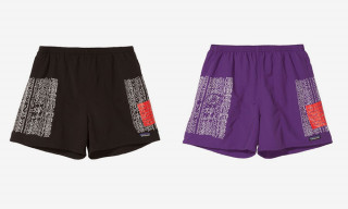 No Vacancy Inn Reworks Patagonia Running Shorts With Text-Heavy Graphic