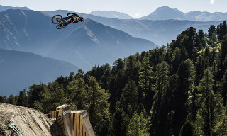 Audi's Nines Bike Contest Is Taking Place in a Moon-like Stone Quarry