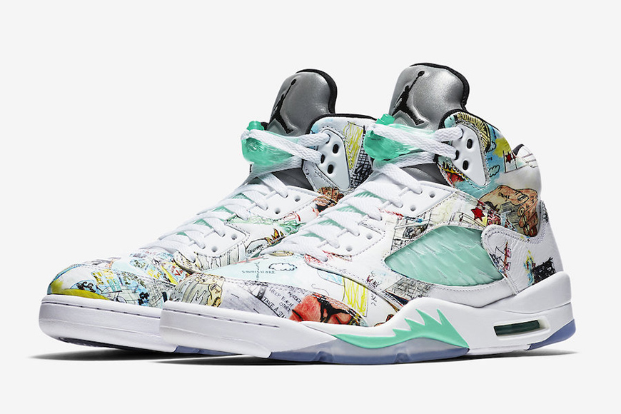 """the latest 50b69 bbee1 Get Your Hands On the Limited-Edition Air Jordan 5 """"Wings ..."""