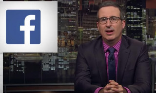 John Oliver Has Two Words for Facebook's Thirsty Data Privacy Campaign