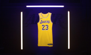 Here's Where to Cop LeBron James' Showtime-Inspired Lakers Jersey