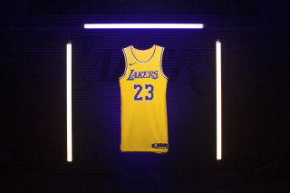 Here s Where to Cop LeBron James  Showtime-Inspired Lakers Jersey 0fa47a264