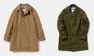 THE NORTH FACE PURPLE LABEL & BEAMS Go Trench Heavy for FW18