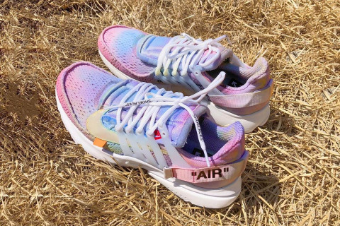 """49028ed2d27 ... Here Are Our Favorite OFF-WHITE x Nike Air Presto """"White"""" Customs ..."""