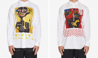 These CdG SHIRT x Basquiat Pieces Are an Art Lover's Dream