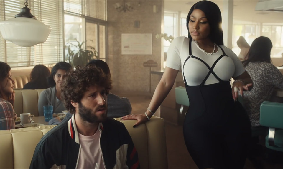 Nicki Minaj Quavo Lil Dicky Star In Madden Nfl 19 Ad