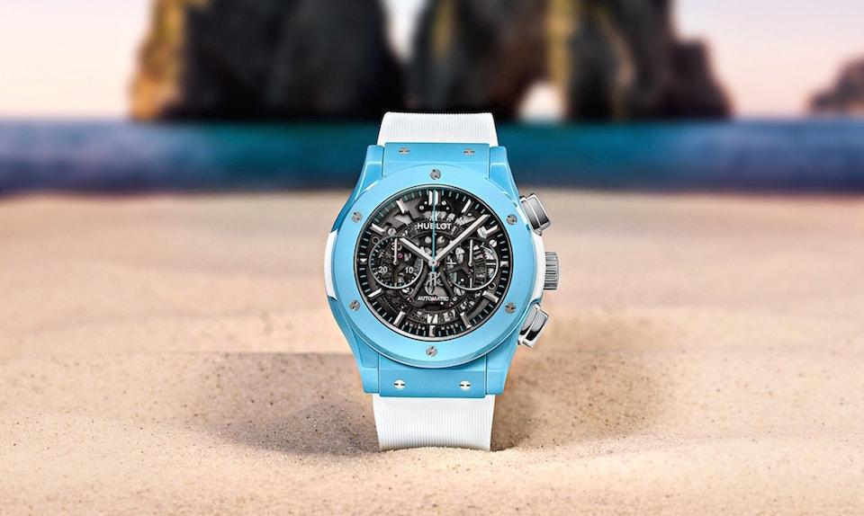Second Hand Watches >> Hublot Debuts Capri Classic Fusion Aerofusion Chronograph