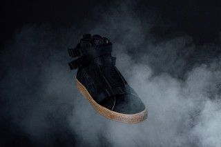 5661ee767434 The Weeknd Turns the PUMA Suede Into a Military Boot - Selectism