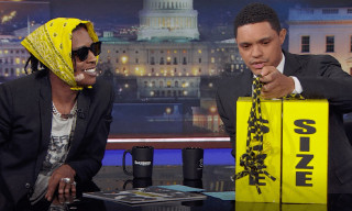 A$AP Rocky Announces Under Armour Collab Release Date on 'The Daily Show'