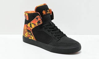 "Rothco & SUPRA Team Up on ""Savage Orange"" Camo Collaboration"