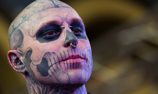 "Lady Gaga Apologizes for Tweet About ""Zombie Boy"" Rick Genest's Death"