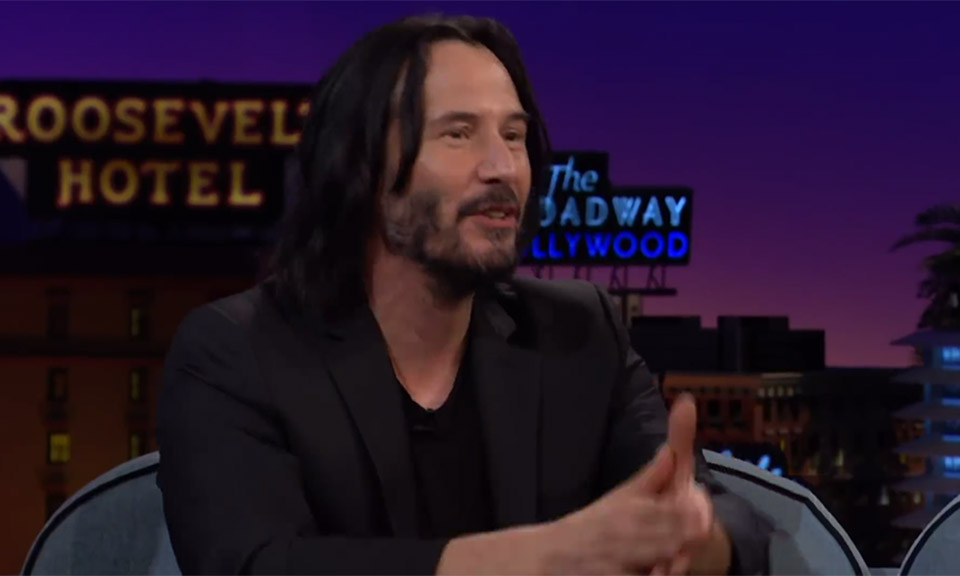Keanu Reeves Reacts to His Hilarious '80s Coca-Cola Commercial