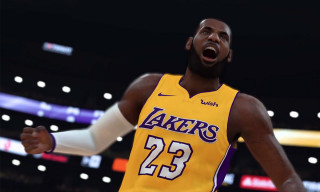First Look at LeBron James as a Laker in   8216 NBA 2K19   39039b961
