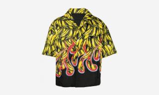Here's the Story Behind Prada's $1,790 Banana Bowling Shirt