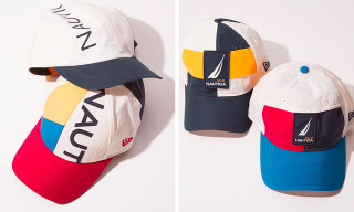 New Era Made Hats Using Vintage Nautica Jackets