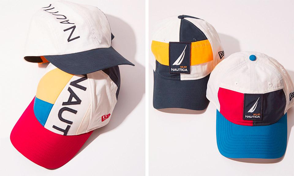 New Era Made Hats Using Vintage Nautica Jackets b74e466855b