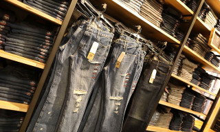 Levi's Laser Technology Lets Customers Create Perfectly Faded Jeans
