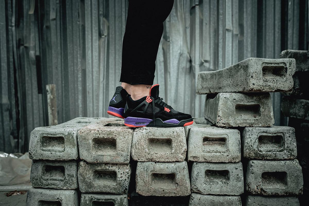 purchase cheap 276f2 9592e Take an On-Foot Look at the Upcoming Nike Air Jordan IV ...