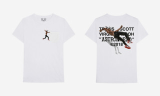 Virgil Abloh Is Dropping a Second Travis Scott 'Astroworld' T-Shirt