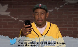 "Tyler, the Creator, Pusha-T & More Get Flamed on ""Mean Tweets"" Hip-Hop Edition"