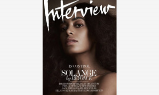 'Interview' Magazine Planning September Relaunch