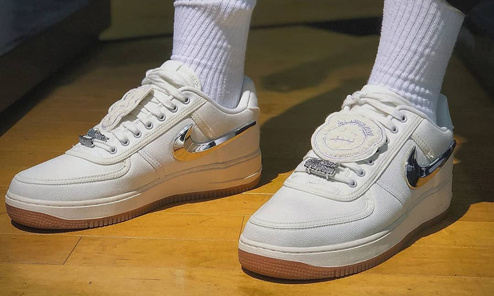 Here s How Instagram Is Wearing the Travis Scott Nike Air Force 1 bb5faa971