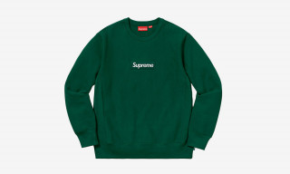 Supreme Brings Back Box Logo Crewneck Sweatshirts for FW18
