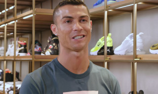Cristiano Ronaldo Says Nike Is Making New Juventus Shoes on 'Sneaker Shopping'