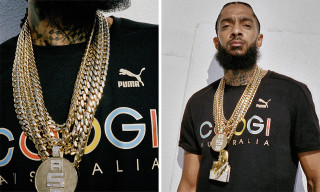 PUMA & COOGI Debut Colorful Authentic Tee on Nipsey Hussle