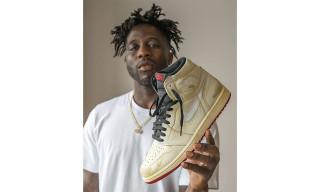 Nigel Sylvester Unveils Air Jordan 1 Collaboration