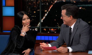 "Watch Nicki Minaj Rap About Stephen Colbert in a ""Barbie Dreams"" Update"